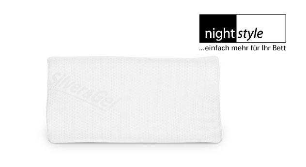 Bequemes Softgel-Nackenstützkissen nightstyle ergo - antistatisch