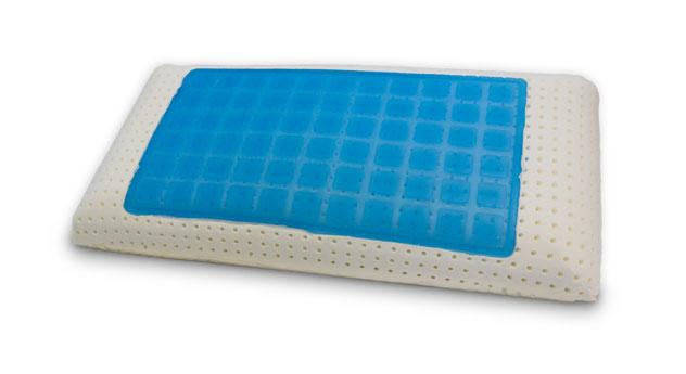 Softgel-Nackenstützkissen nightstyle mit Kern aus Viscoschaum