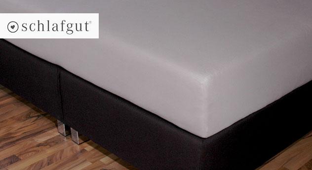 boxspring spannbetttuch f r obermatratzen mit oder ohne topper. Black Bedroom Furniture Sets. Home Design Ideas