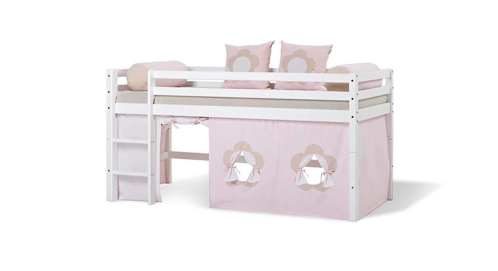 Spielvorhang Kids Heaven mit Prinzessin-Design in Rosa