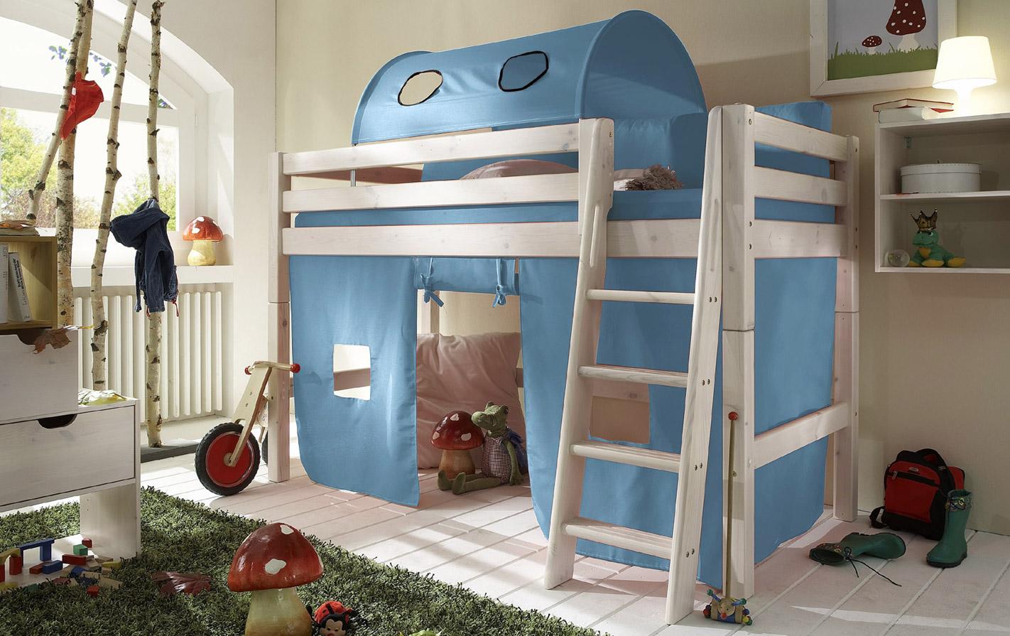Spielvorhang Kids Paradise Mini in uni hellblau
