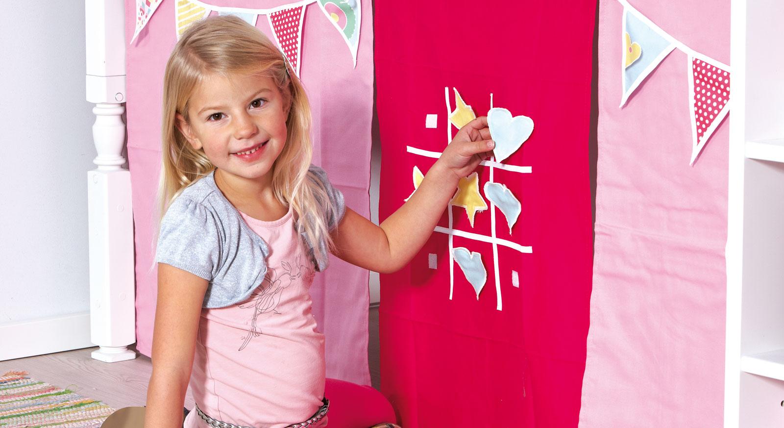 Spielvorhang Kids Town Party mit interaktiven Spaß