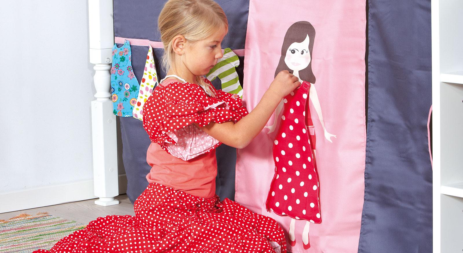 Interaktives Spielen mit Spielvorhang Kids Town Fashion