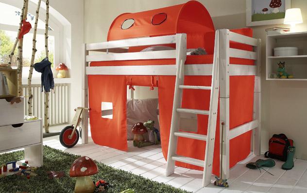 Spielvorhang Kids Paradise Midi uni orange