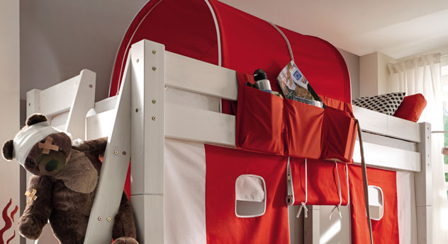 Stockbett Kids Dreams mit stabiler Absturzsicherung
