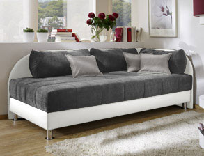 schlafsofas mit federkern g nstig im sortiment. Black Bedroom Furniture Sets. Home Design Ideas