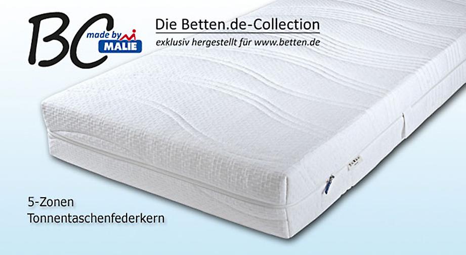 Tonnentaschenfederkern-Matratze Malaga XXL Premium