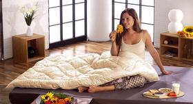 Hautsympathische Bettdecke