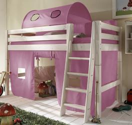 Spielvorhang Mini-Hochbett Kids Paradise in stilvollem Flieder