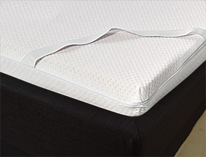 Hochwertiger Luxus-Viscoschaum Topper z.B. in 180x200cm