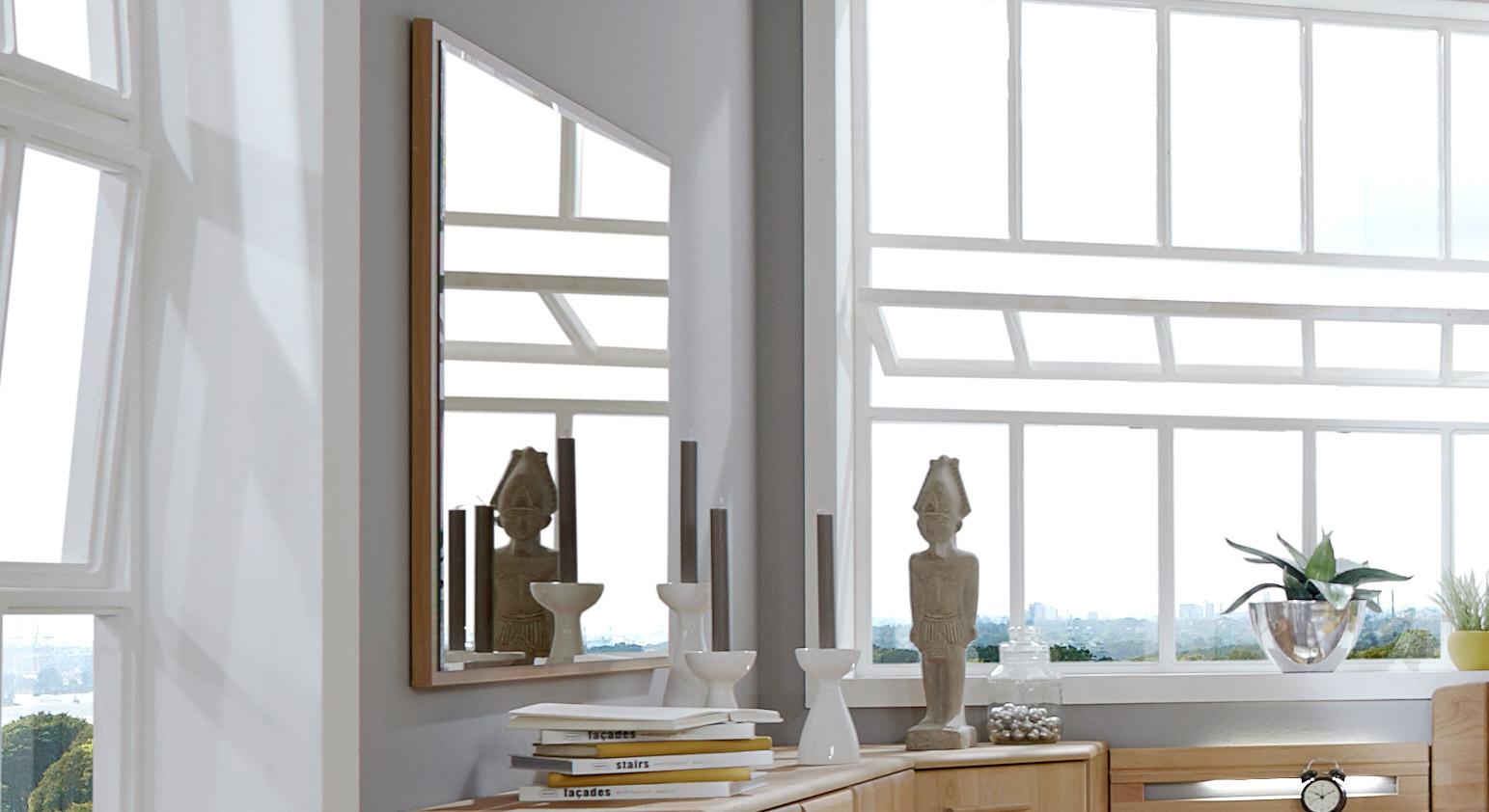 Wandspiegel Trikomo mit Parsol-Bronze-Glas