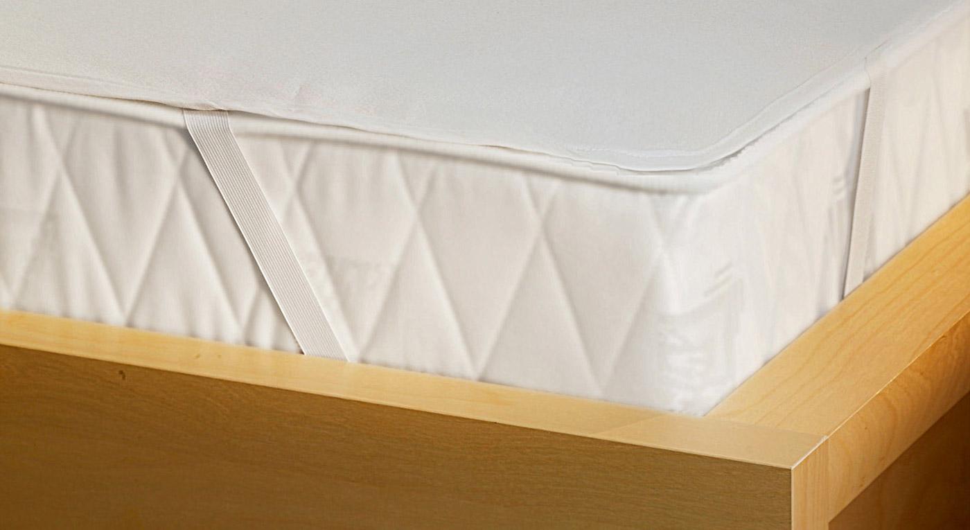 Wasserdichter Molton-Matratzenschutz als Inkontinenz-Fixspannauflage
