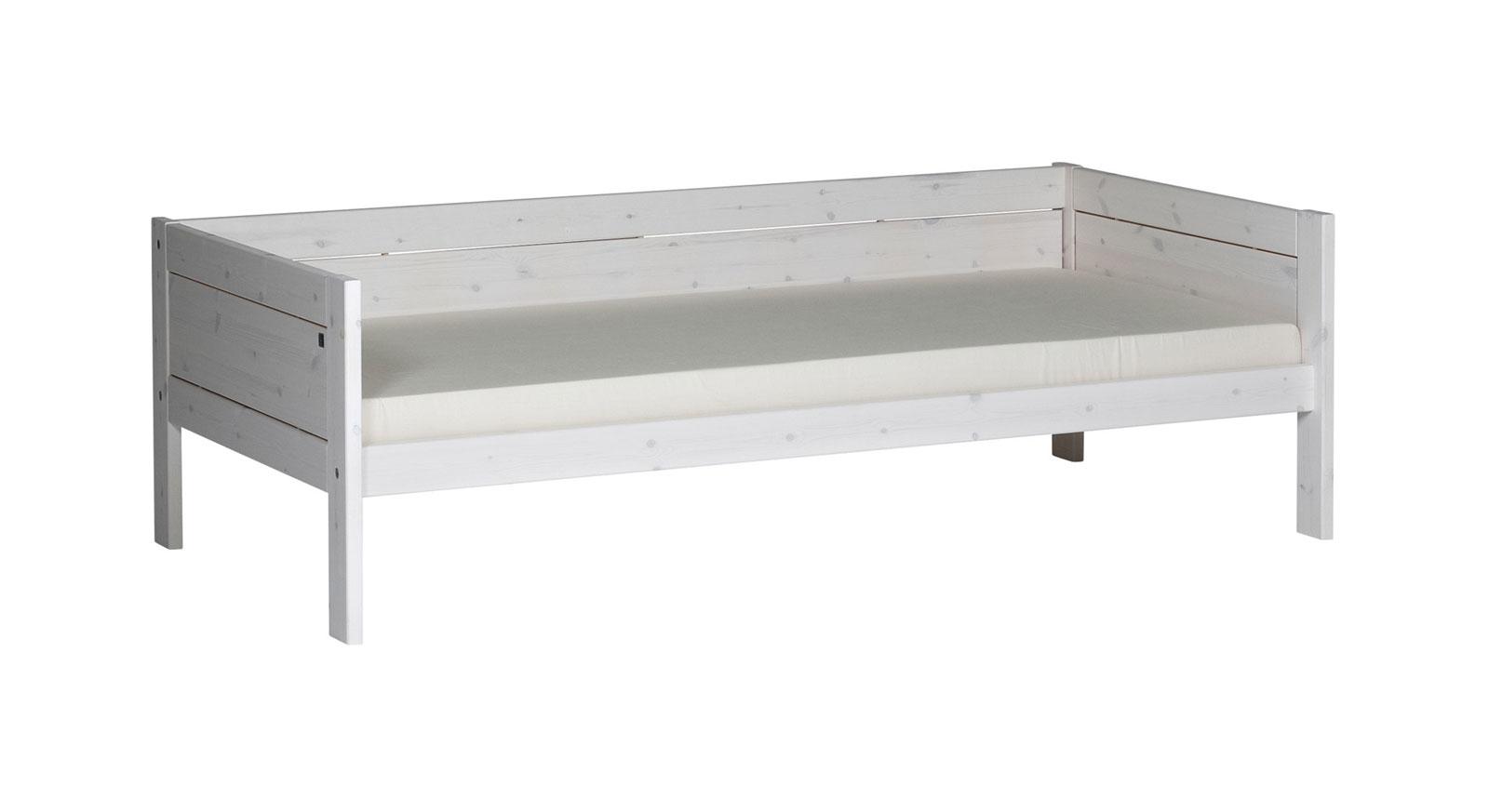 Weiss lasiertes Kinderbett von der Qualitäts Marke LIFTIME
