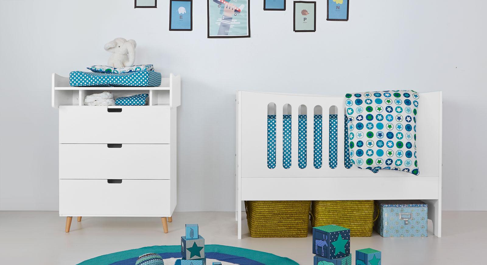 Wickelkommode Kids Town mit passenden Produkten
