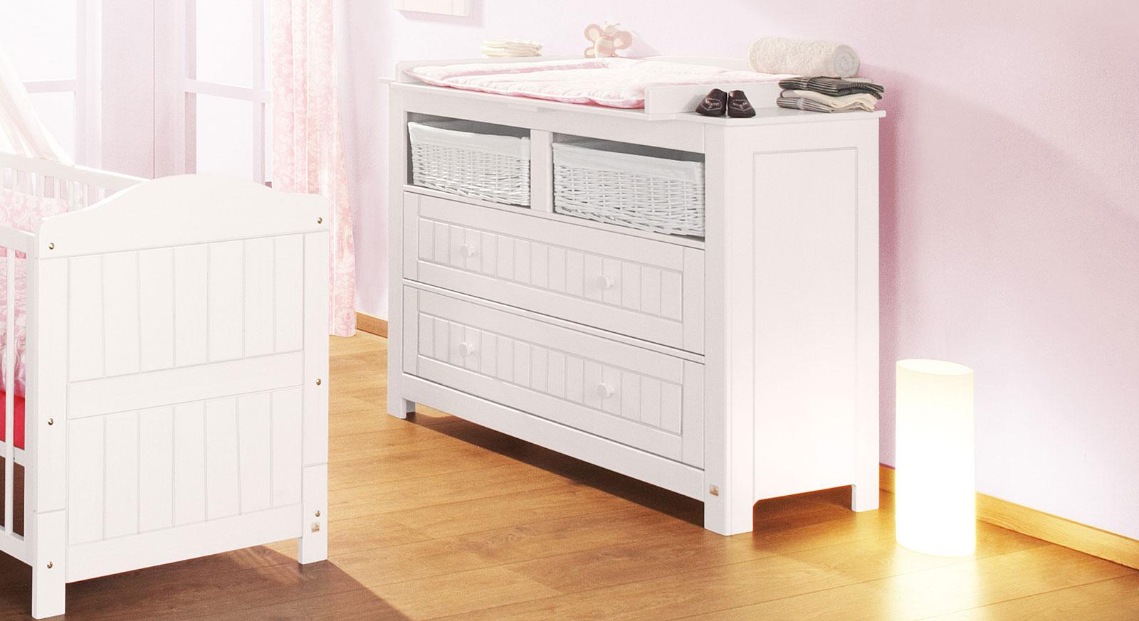 nina wickelkommode wei lasiert von. Black Bedroom Furniture Sets. Home Design Ideas