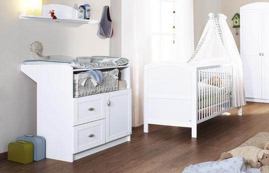 wickelkommode wei lackiert g nstig laura. Black Bedroom Furniture Sets. Home Design Ideas