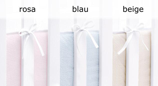 Wiege Kids Heaven mit Nestchen in drei Farben