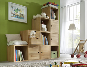 jugendzimmer komplett aus buche biologisch ge lt kids fantasy. Black Bedroom Furniture Sets. Home Design Ideas
