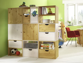 regale f r kinderzimmer g nstig online erwerben. Black Bedroom Furniture Sets. Home Design Ideas