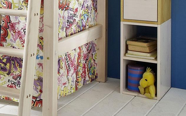 Wuerfelsystem Kids Paradise kleine Wuerfel als Regal