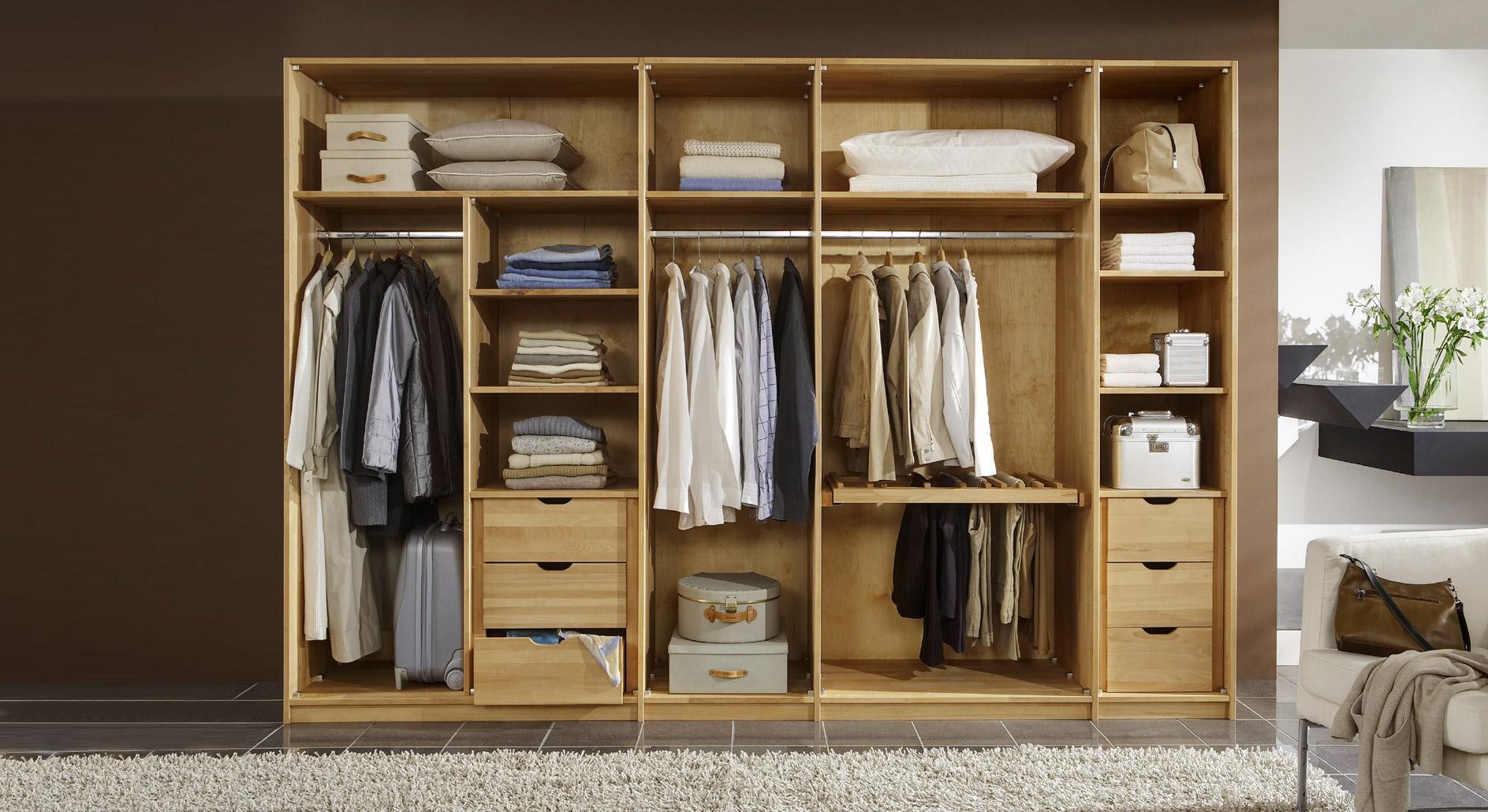 Zubehör für die Inneneinrichung von Kleiderschränken