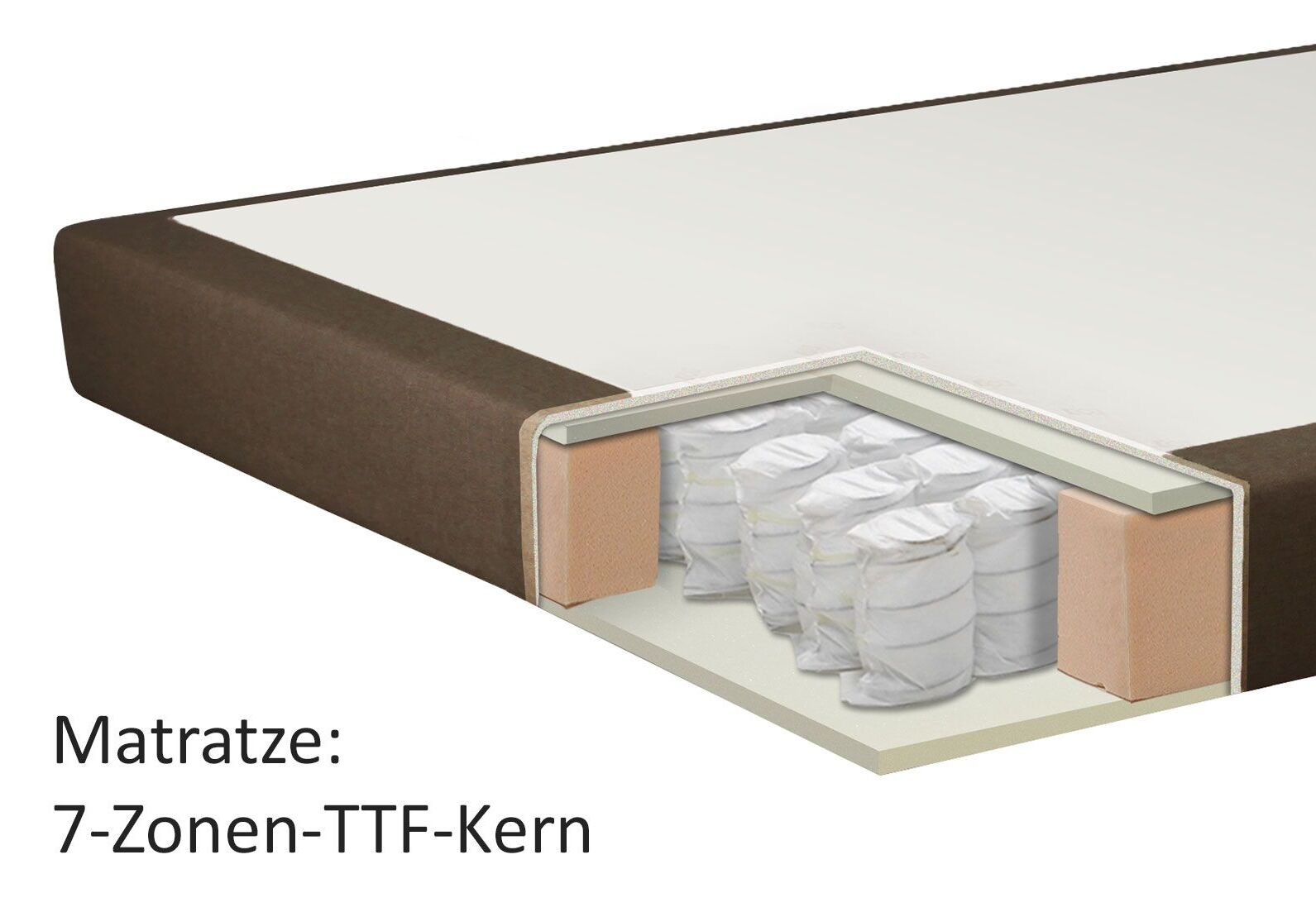 boxspringbett mit doppelmatratze z b auf rechnung tiberio. Black Bedroom Furniture Sets. Home Design Ideas