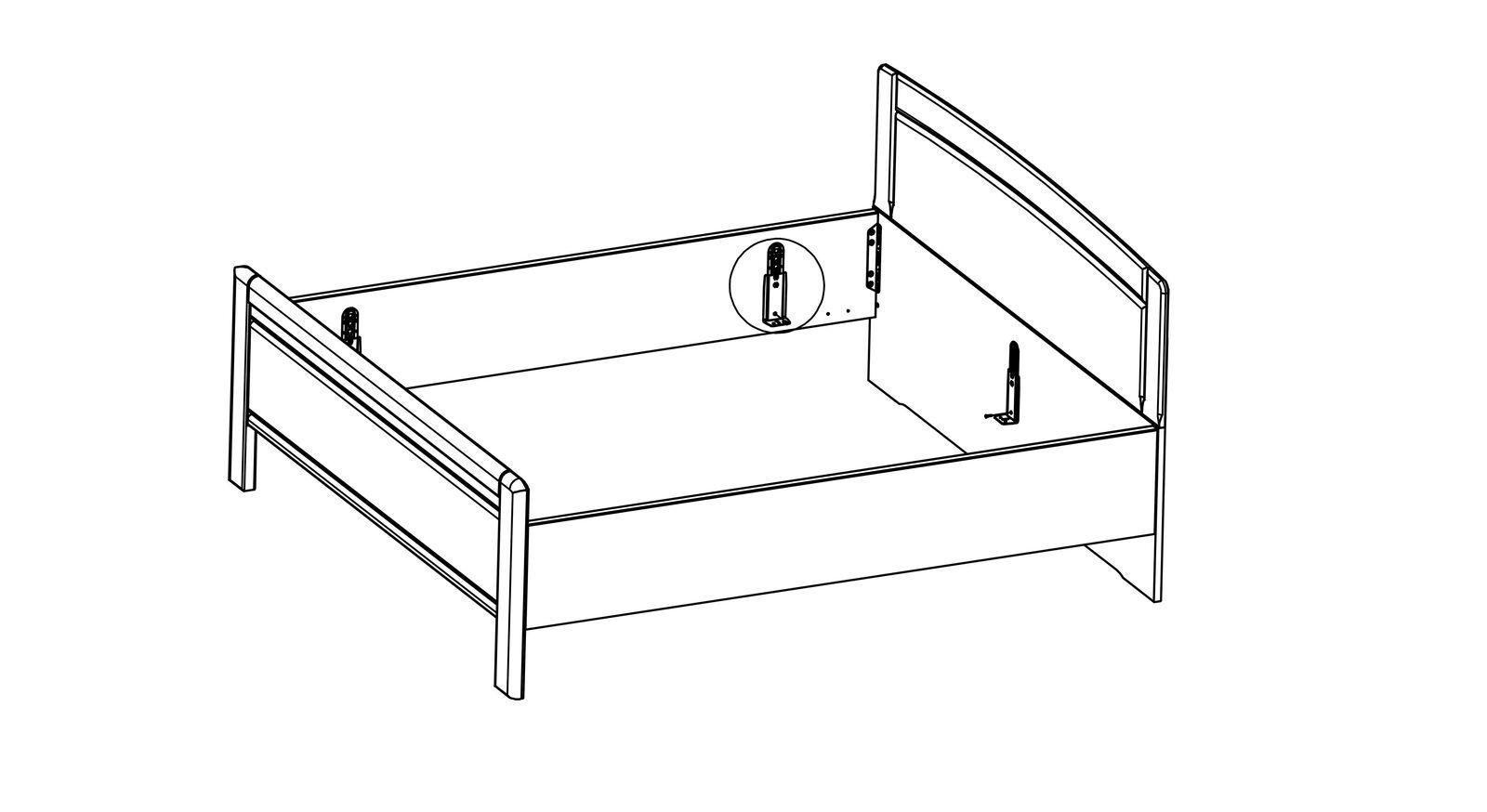 Adapter-Set zur Erhöhung der Einlegetiefe aus stabilem Metall