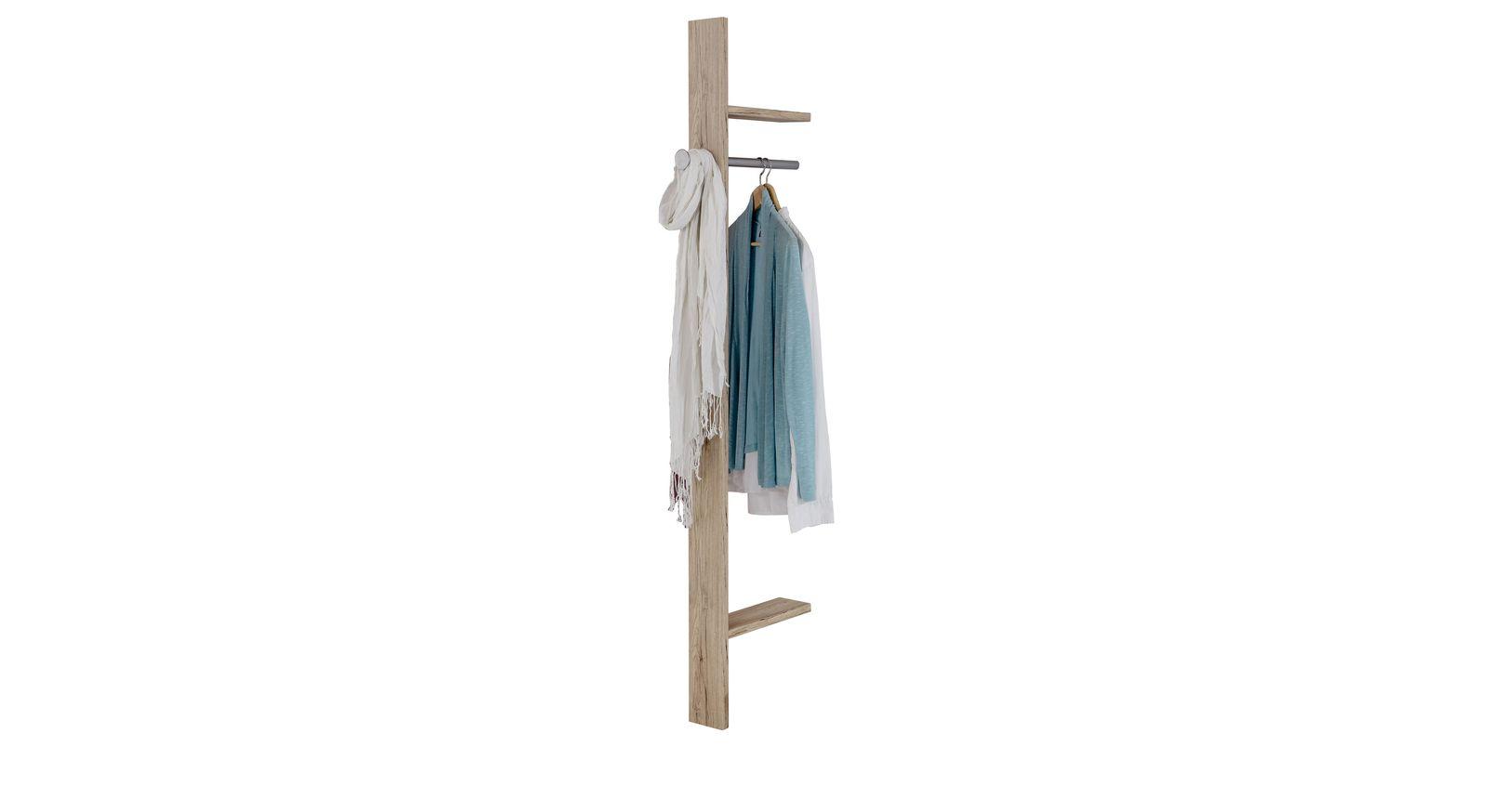 Anbau-Garderobe Tropea als praktische Ergänzung zum Kleiderschrank