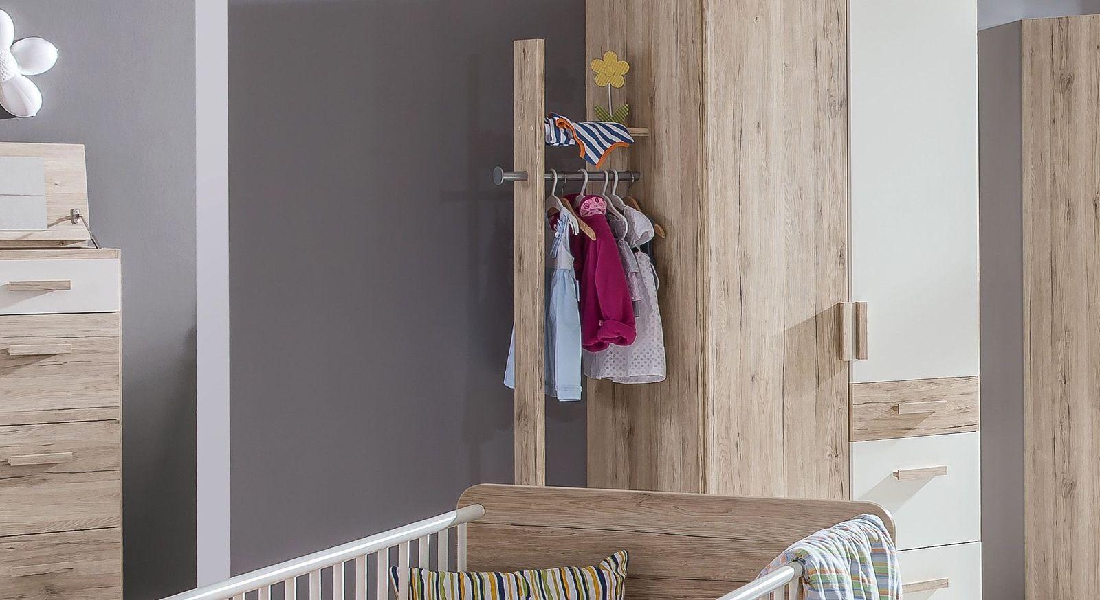 Stabile Anbau-Garderobe Tropea passend zum Kleiderschrank