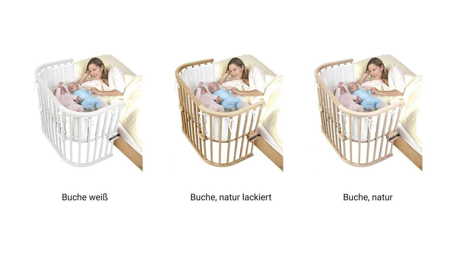 Anstellbettchen BabyBay Maxi für ein Zwillingspaar geeignet