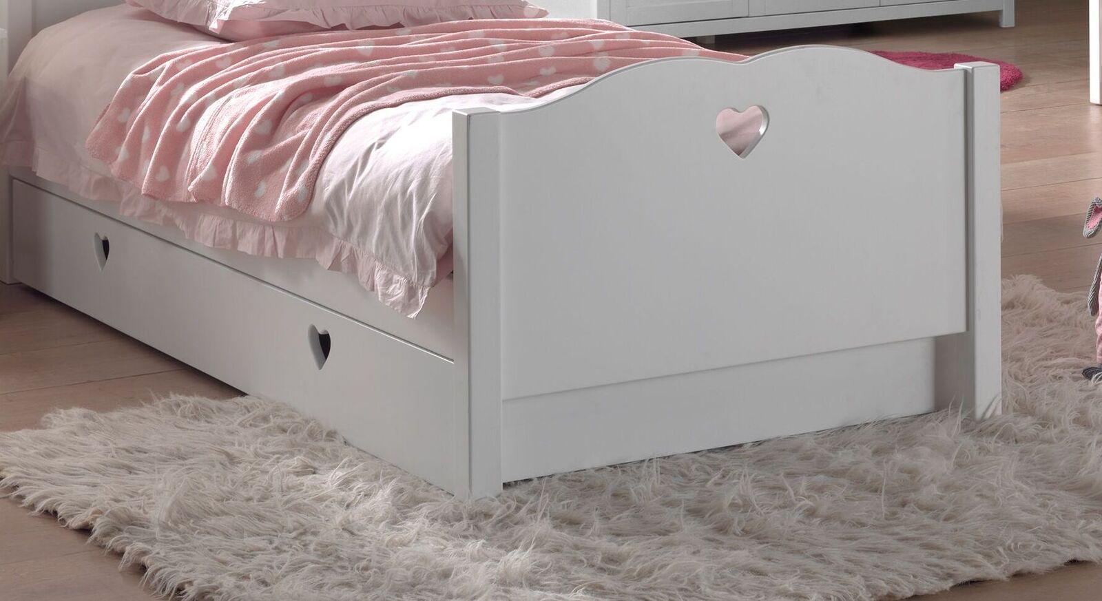 Ausziehbett Asami mit Fußteil und Bettschublade