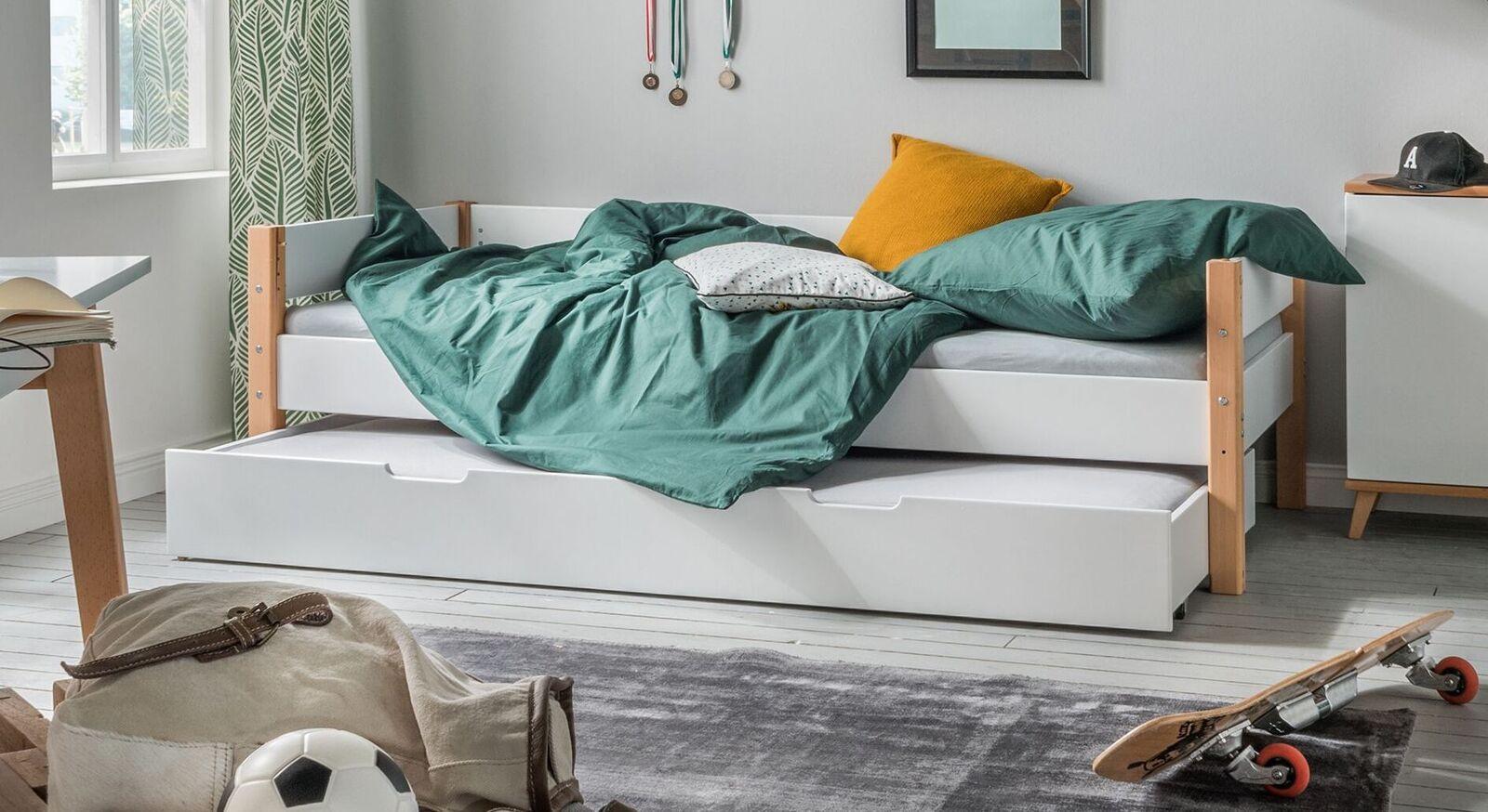 Ausziehbett Kids Nordic mit zwei Schlafplätzen