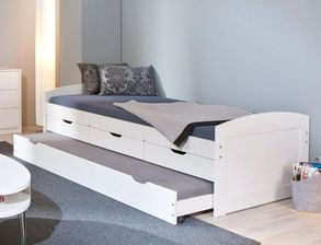 bett mit zweiter matratze zum ausziehen my blog. Black Bedroom Furniture Sets. Home Design Ideas