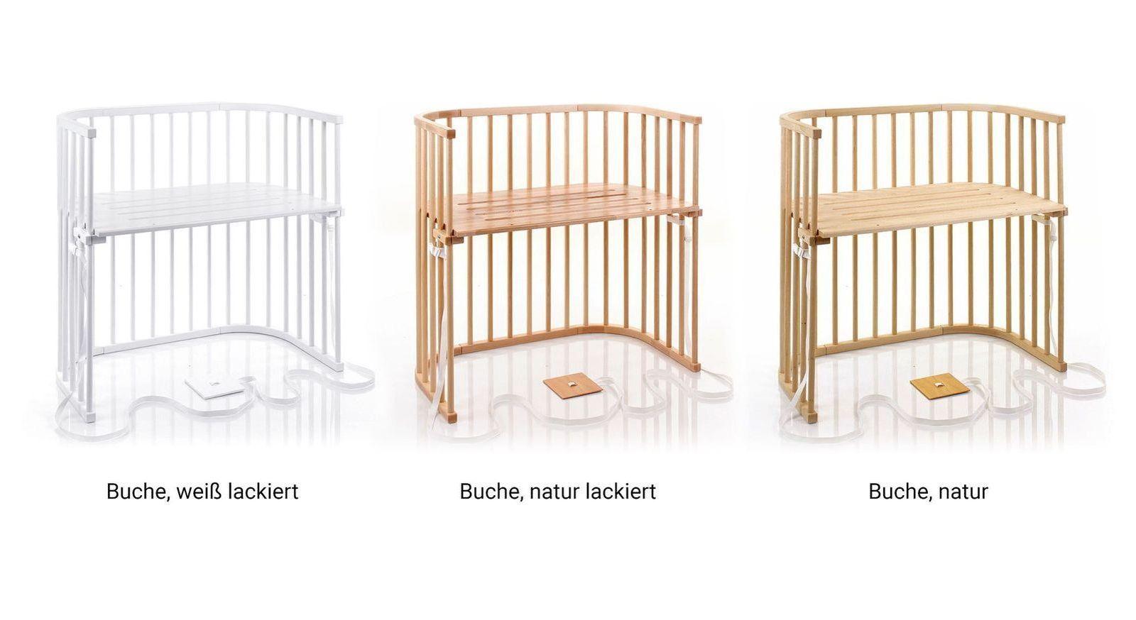 BabyBay Anstellbettchen für Boxspringbetten in verschiedenen Farbvarianten