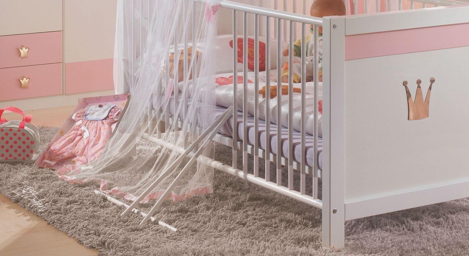 Babybett Embala mit praktischen Schlupfsprossen