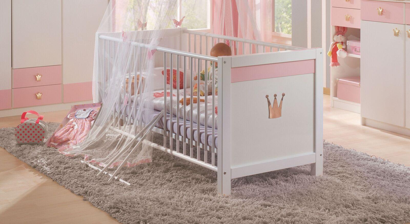 Babybett Embala im Prinzessinnen-Design