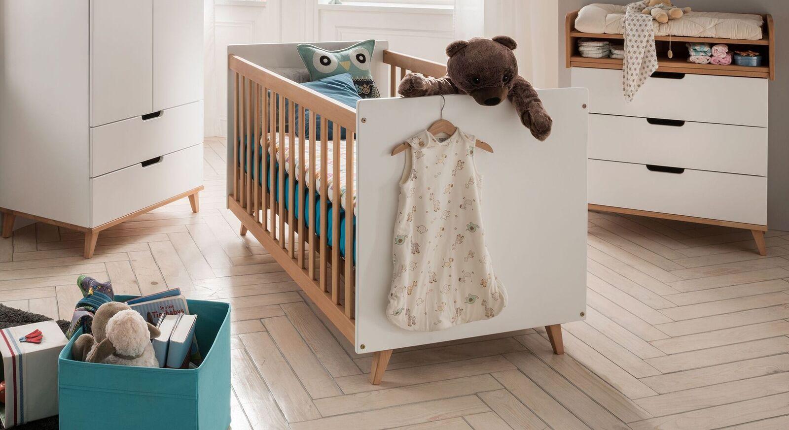 Babybett Kids Nordic inklusive Lattenrost