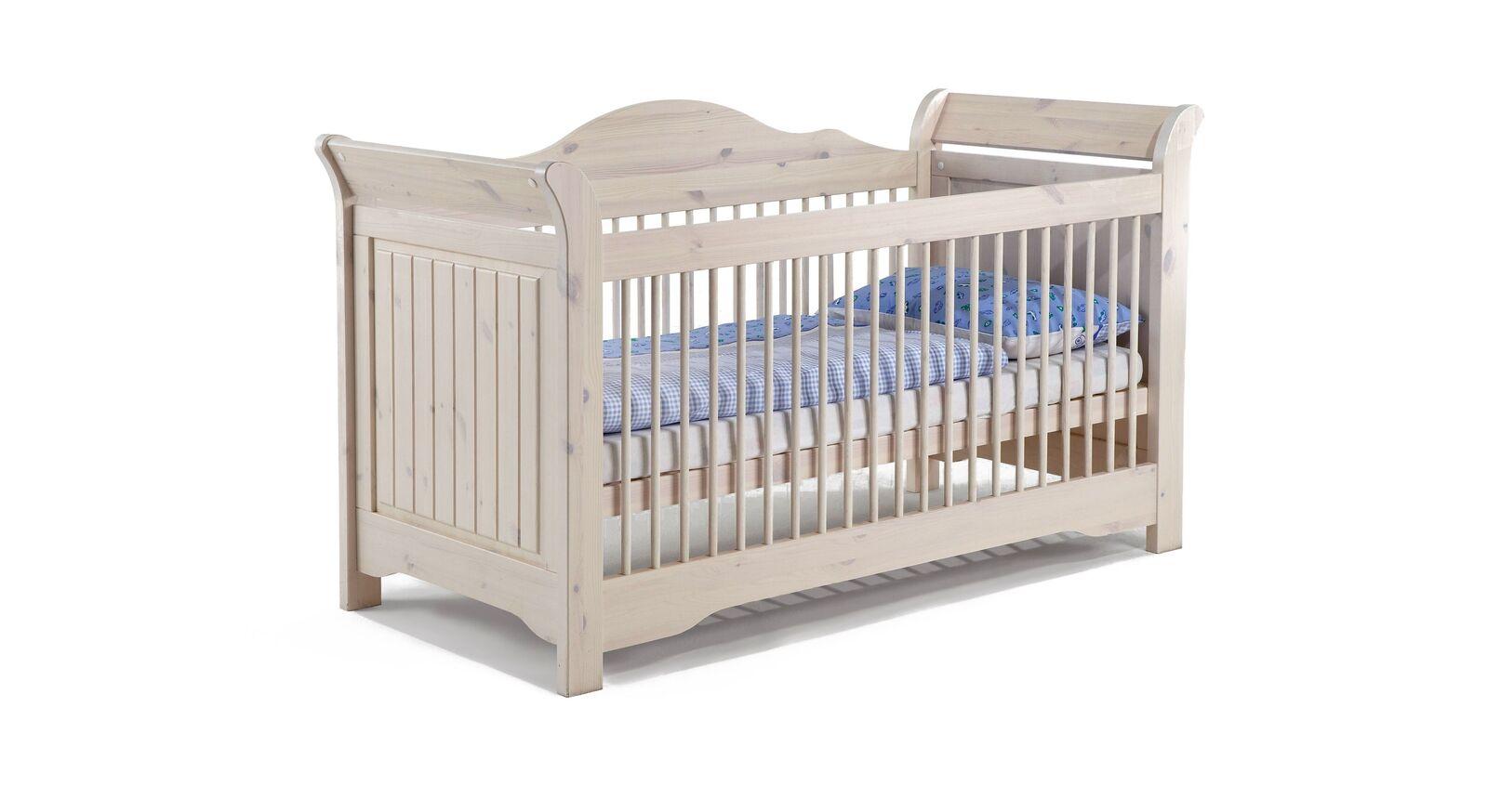Babybett Nela mit höhenverstellbarem Lattenrost