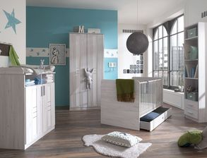 babyzimmer komplett als set g nstig kaufen. Black Bedroom Furniture Sets. Home Design Ideas