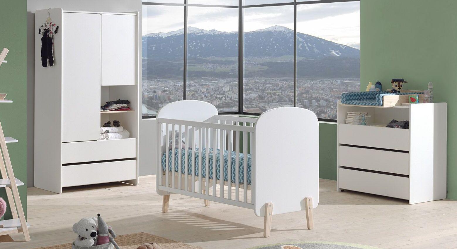 Babyzimmer Maila 3-teilig im reduziertem Design