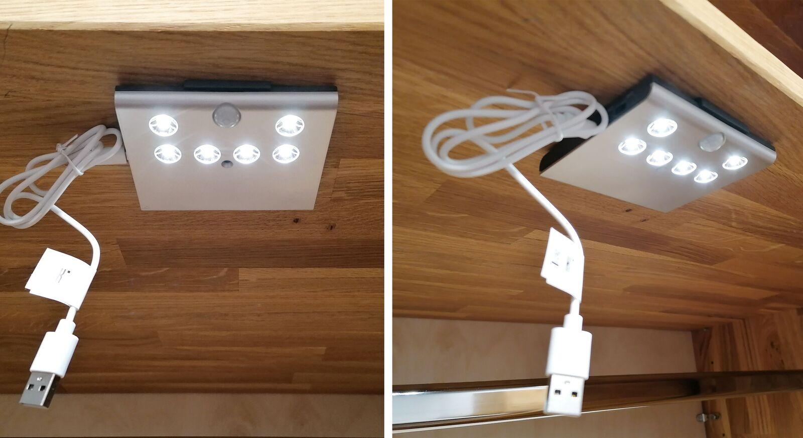 LED Kleiderschrank-Beleuchtung mit Bewegungssensor