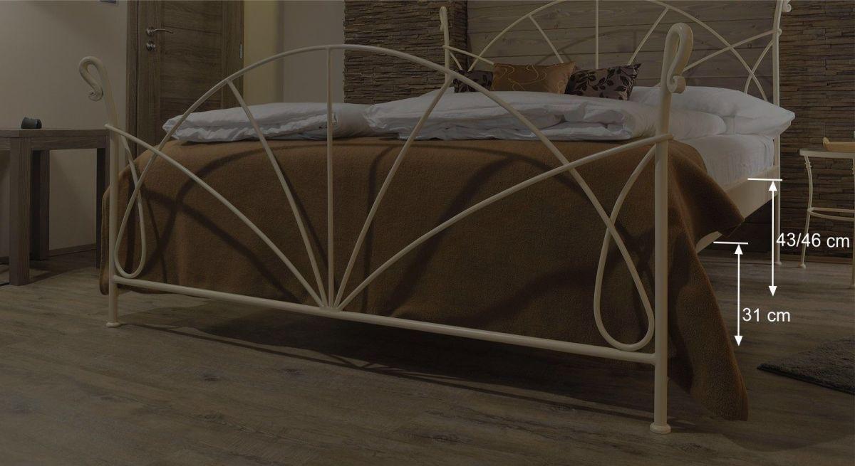 Praktische Maßgrafik zum Bett Acara