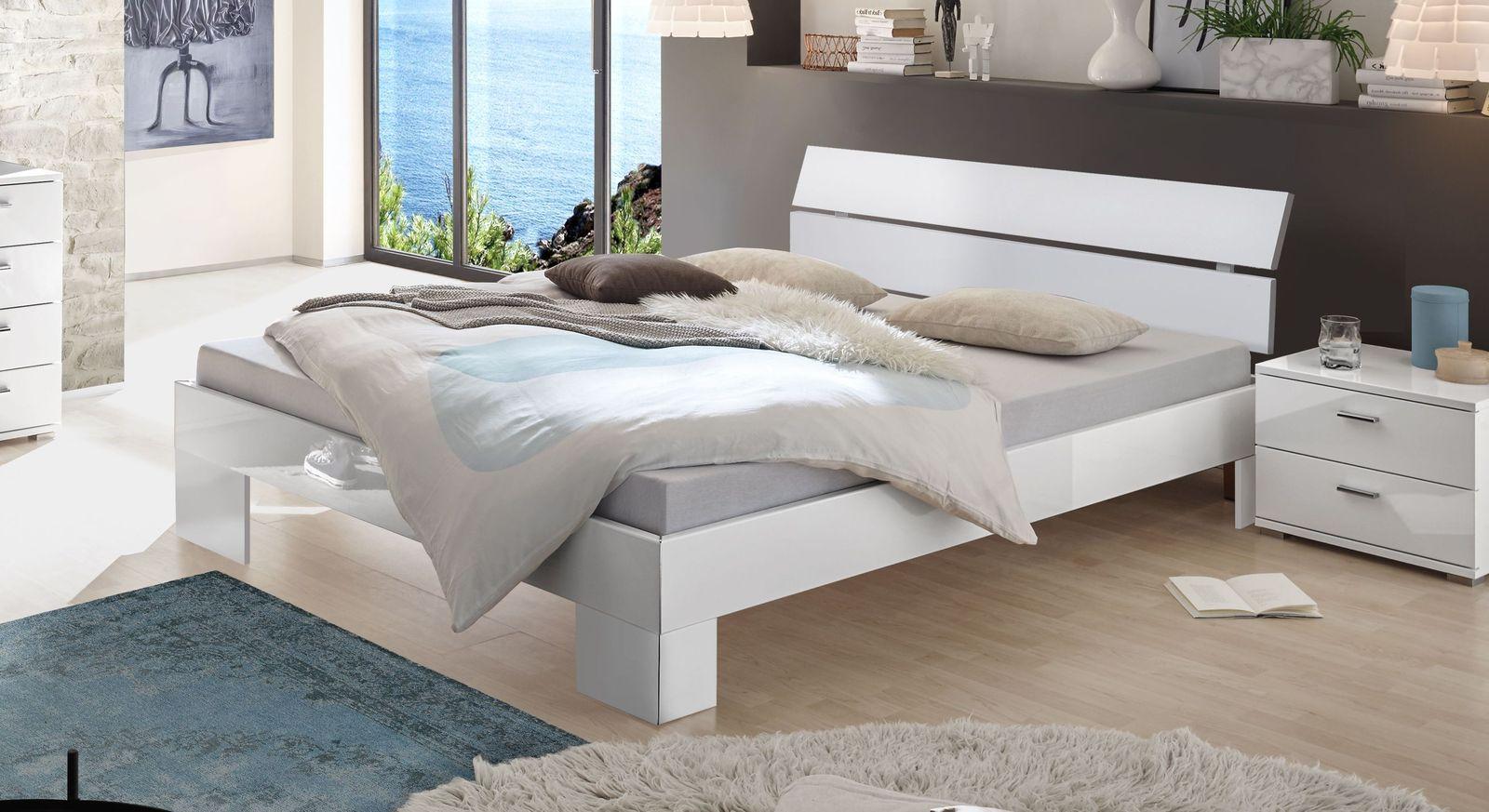 Bett Alamito mit zweigeteiltem Kopfteil