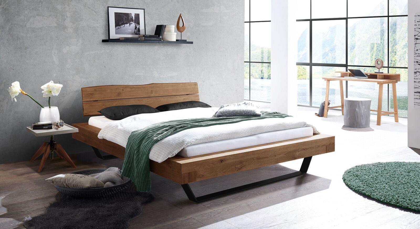 Bett Antero mit passenden Schlafzimmermöbeln