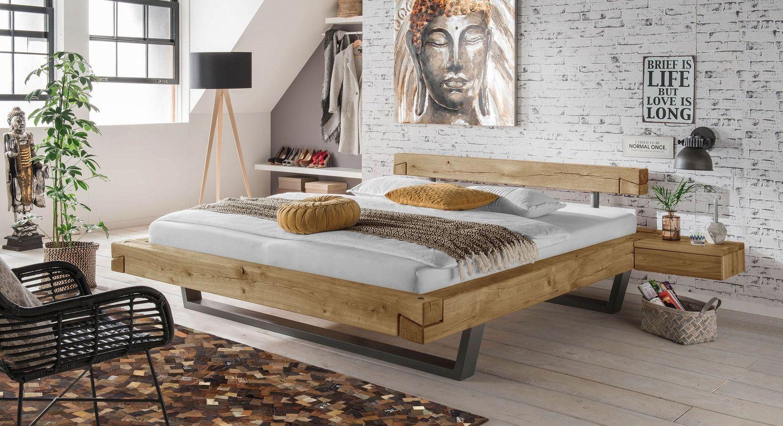 Bett Arsos mit passender Schlafzimmer-Einrichtung