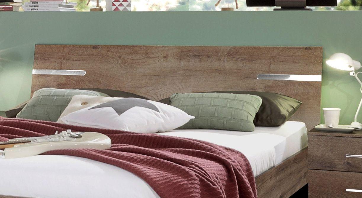 Modernes Bett Avello mit robustem Kopfteil