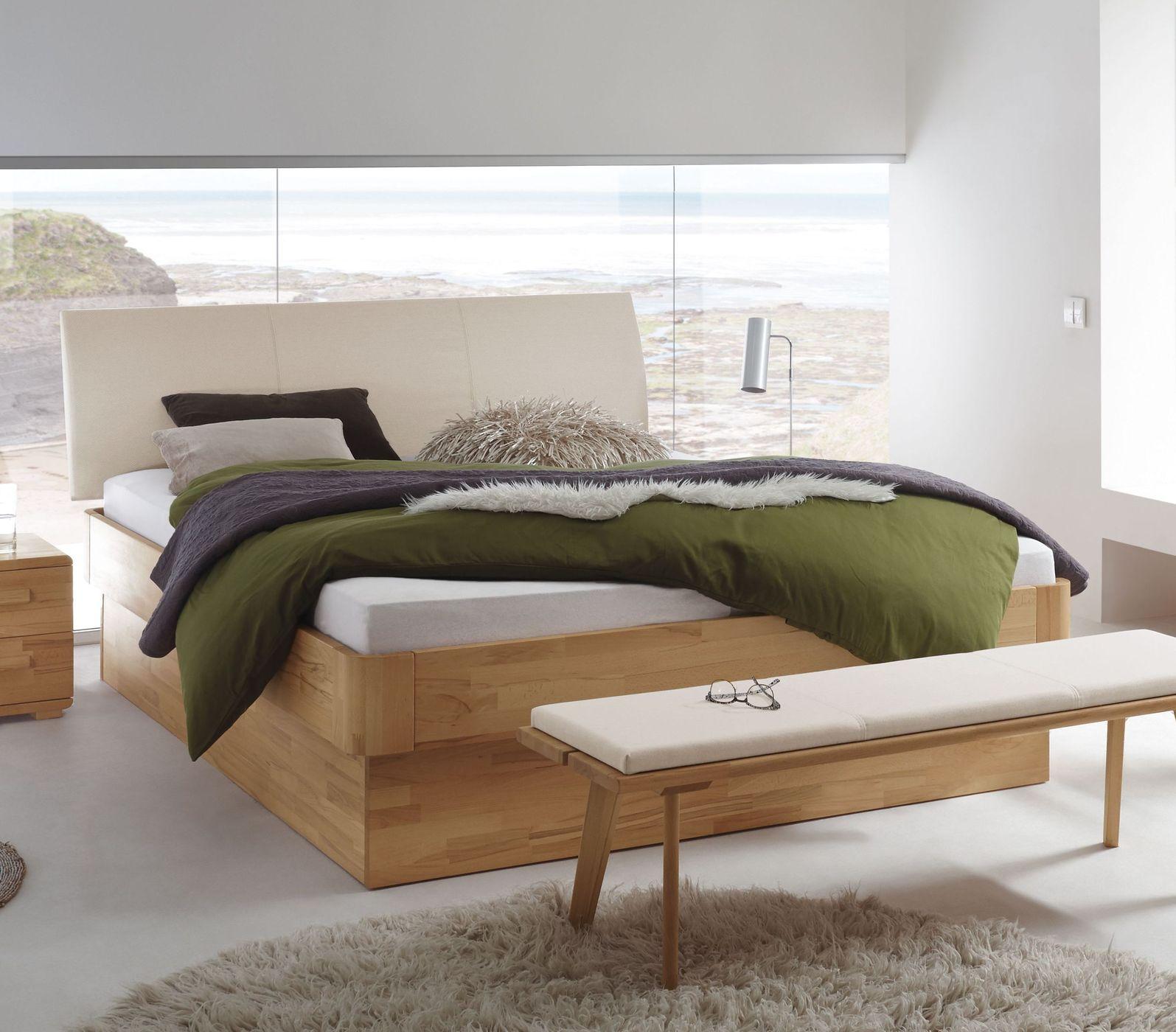 Hasena Fine-Line Betten z. B. aus Nussbaum kaufen | BETTEN.de