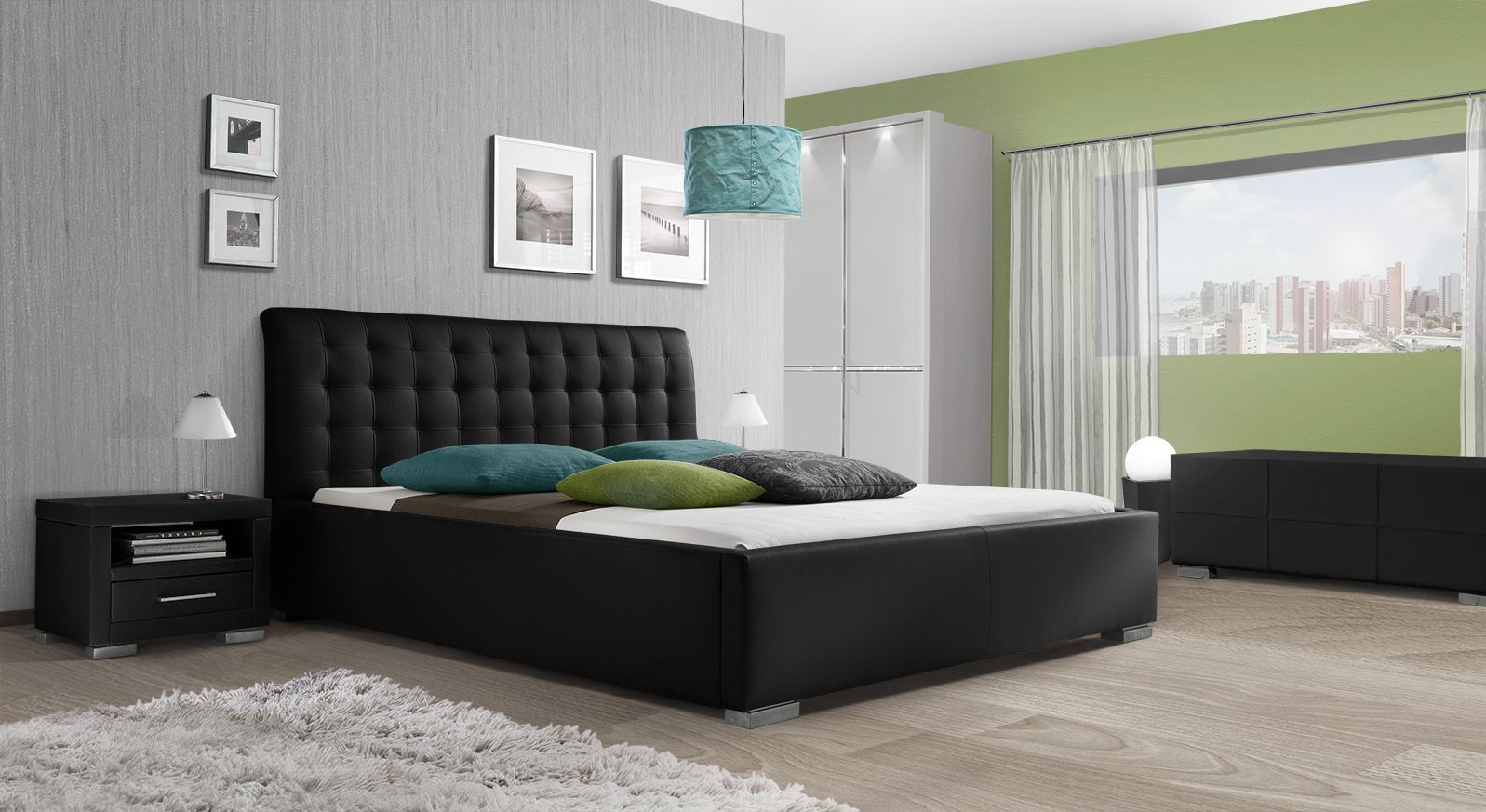 Kunstlederbett Baskerville Comfort mit passenden Produkten