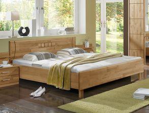 schlafzimmer erle teilmassiv mit vielen stauraummöbeln - beyla