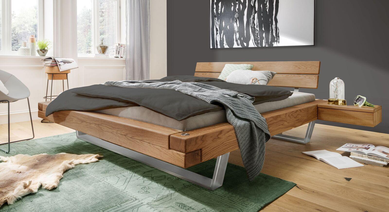 Bett Borka in angesagtem Industrial-Style